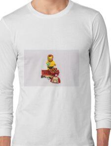 Ironing Man Long Sleeve T-Shirt