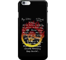 Mad max tattoo - Front print iPhone Case/Skin