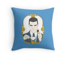 SHERLOCK - Tea Time for Sherlock - Jim Moriarty Throw Pillow