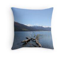 Boundary Creek - New Zealand Throw Pillow