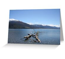 Boundary Creek - New Zealand Greeting Card
