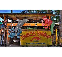 Jimbo's Shrimp Shack Photographic Print