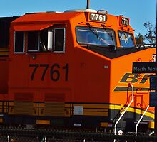BNSF at the Corona Station by Stephen Burke