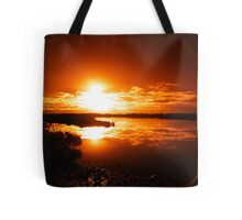 Oh, no - not another boring sunset..... Tote Bag