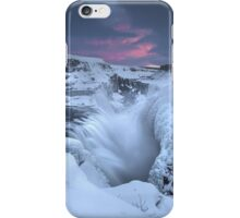 Iceland's Gullfoss iPhone Case/Skin
