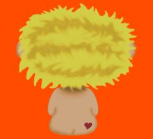 Blond Headed Boy with a heart on his cheek Kids Clothes