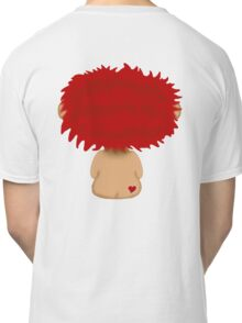 Red Headed Boy with a heart on his cheek Classic T-Shirt