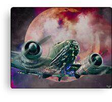 Fantasy Night Flight Canvas Print