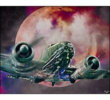 Fantasy Night Flight Photographic Print