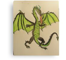 Here there be Dragons ! Canvas Print