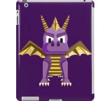 Spyro vector character fanart iPad Case/Skin