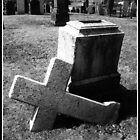Eroded Gravestone 2 - Halifax, Nova Scotia by ateneyck