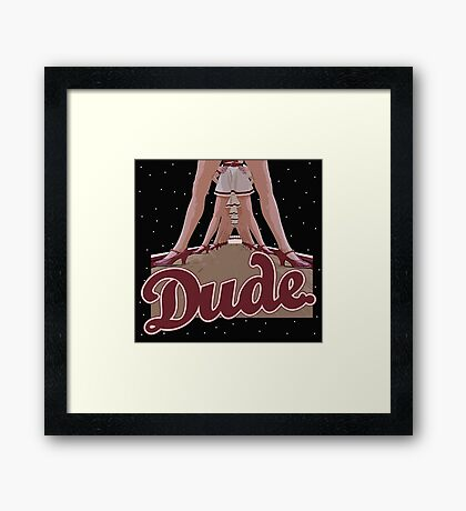 The Big Lebowski - Dude Framed Print