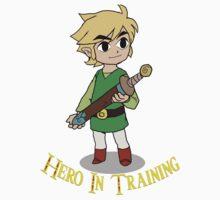 Legend of Zelda Hero In Training by JoshVII
