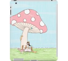 Under The Mushroom iPad Case/Skin