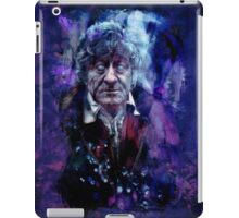 The Third Doctor iPad Case/Skin