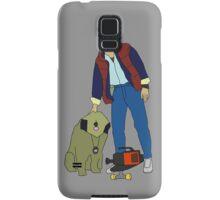 Back To The Future Marty & Einstein  Samsung Galaxy Case/Skin