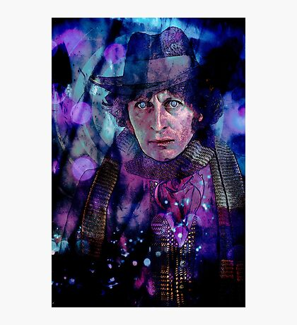 The Fourth Doctor Photographic Print