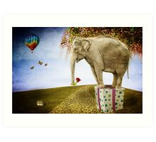 Good things don't always come in small packages Art Print
