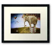 Good things don't always come in small packages Framed Print