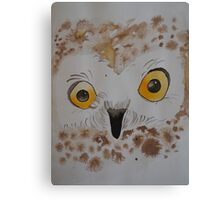 Boo! the owl Canvas Print