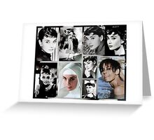 Tribute to Audrey  Greeting Card