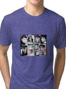 Tribute to Audrey  Tri-blend T-Shirt