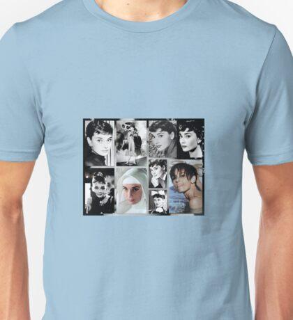Tribute to Audrey  Unisex T-Shirt