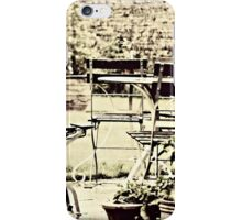 Table & Chairs iPhone Case/Skin