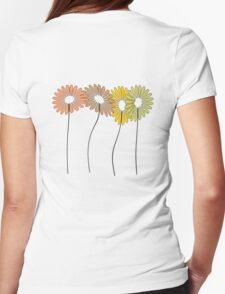 Four Flowers T Shirt T-Shirt