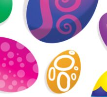 Many Easter eggs  Sticker