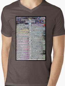 Genesis One  Mens V-Neck T-Shirt