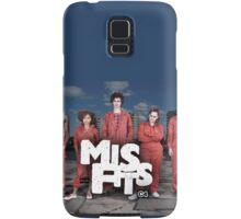Misfits tv show netflix  Samsung Galaxy Case/Skin