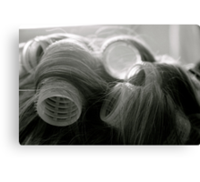 Potentially a good hair day Canvas Print
