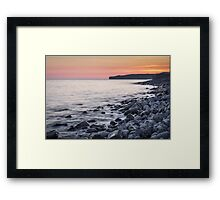 Coastal Calm Framed Print