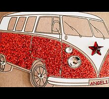 Sparkly Splitty Angel1 by ©The Creative  Minds