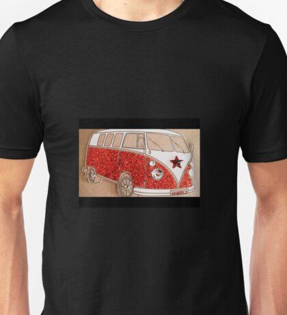 Sparkly Splitty Angel1 Unisex T-Shirt