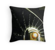 Stair Swirl with Lamp Throw Pillow