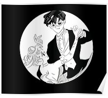 Sailor Moon and Tuxedo Mask Dance Poster