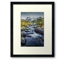 Snowdonia Mountains Framed Print