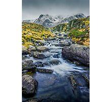 Snowdonia Mountains Photographic Print