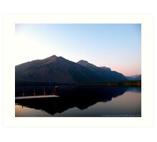 Lake MacDonald 2 Art Print