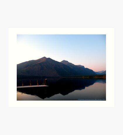 Lake MacDonald 2 Art Print
