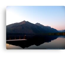 Lake MacDonald 2 Canvas Print