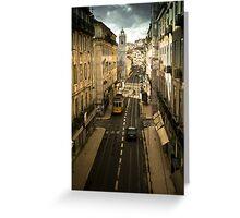 Tram, Lisbon Greeting Card