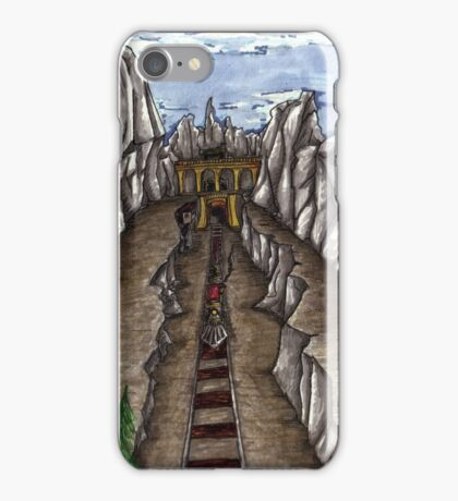 Mines and trains iPhone Case/Skin