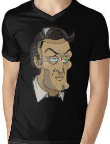 El guapo Mens V-Neck T-Shirt