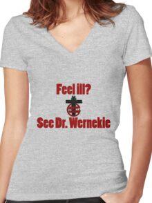 Outlast Women's Fitted V-Neck T-Shirt
