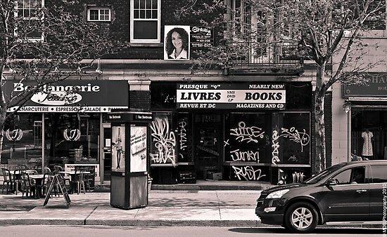 Urban Snapshot by Mark David Barrington