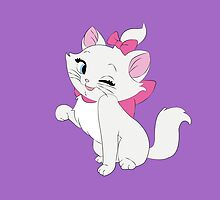 Marie Winking, The Aristocats by steffirae
